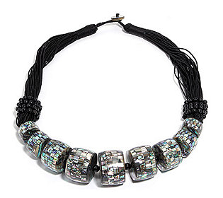 Collier 10 Abalone