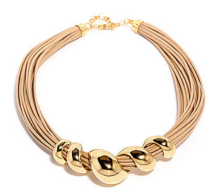 Collier Textilband