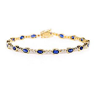Armband Kyanit Diamanten