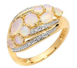 Ring 9 Opale