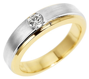 Ring Brillant Platin Gold - 610505