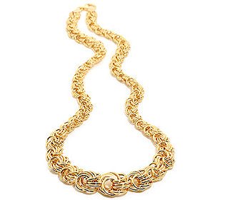 Gold-Collier 46 cm