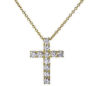 Kreuz-Anhänger 11 Steine