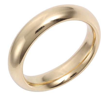 Gold 585 Partnerring Silkfit ca. 5mm poliert