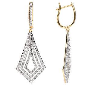 Ohrhänger 140 Diamanten
