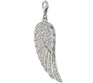 Charm Engelsflügel Silber