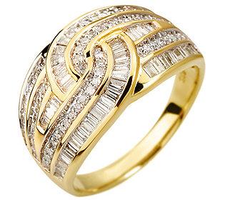Ring 114 Diamanten Gold