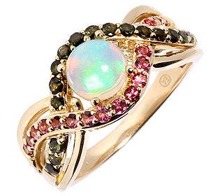 Ring afrikanischer Opal