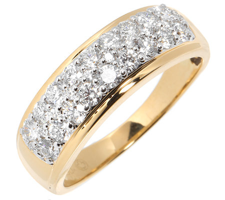 CANADIAN DIAMONDS 28 Brillanten zus.ca.0,75ct Ring Gold 750