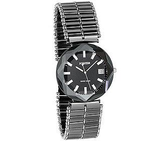 Armbanduhr facettiert