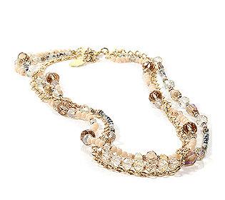 Collier Perlen&Kristalle