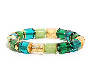 Armband Glas-Elemente