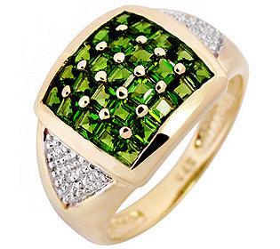 Ring mit 2 Diamanten