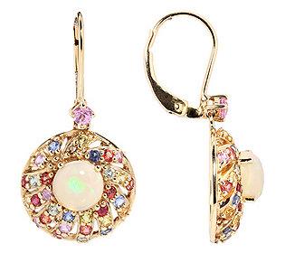 Ohrhänger 2 Opale