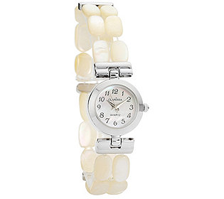 Damenuhr Perlmutt-Armband