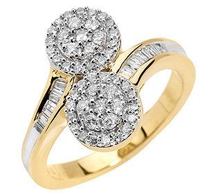 Ring 64 Diamanten