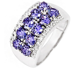 Ring Tansanit & Brillant