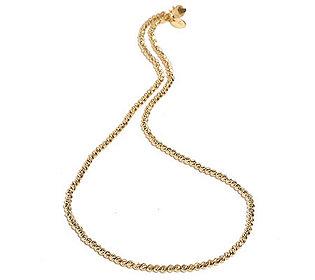Kugelcollier 46 cm Gold