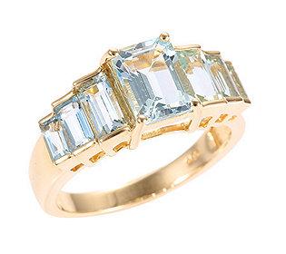 Ring 7 Aquamarine