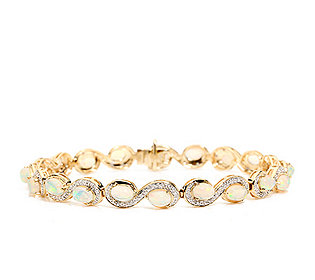 Armband 20 Opale