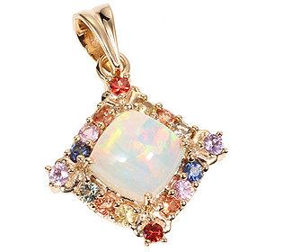 Anhänger Opal Saphire