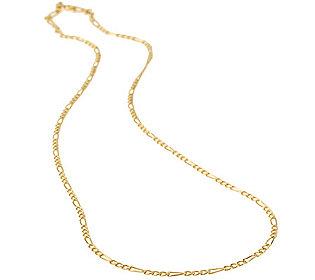 Figaro-Kette Gold