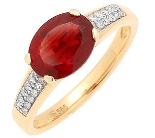 Ring Andesin Diamanten