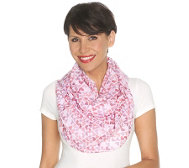 LOLA ROSE Folk Hearts Loopschal Herzdruck