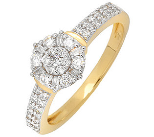 Ring 47 Diamanten