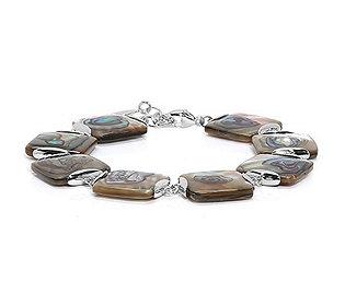 Armband Abalone-Elemente