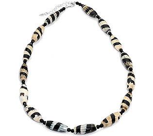 Collier Zebra Achat