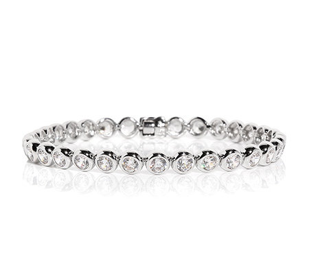 DIAMONIQUE® EPIPHANY = 7,75ct Tennis-Armband Silber 925