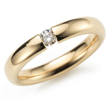 Spannring Brillant Gold - 610828