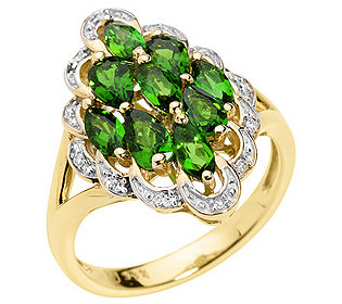Ring 9 Chromdiopside