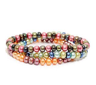3 Armbänder Perlen