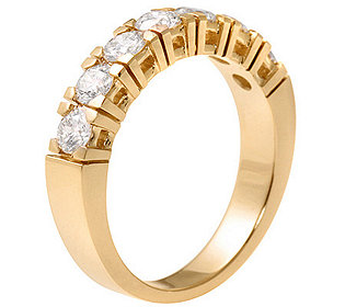 Gold-Ring 7 Brillanten