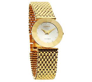 Armbanduhr vergoldet
