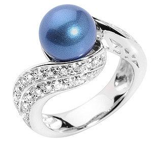 Ring Perle & 42 Steine