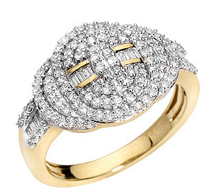 Ring 124 Diamanten