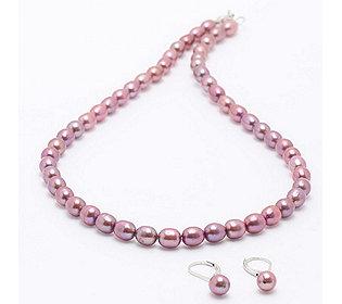 Collier Ohrhänger Perlen