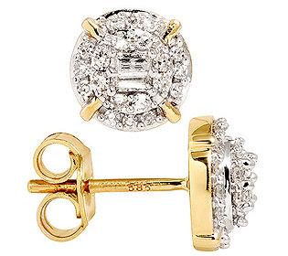 Ohrstecker 44 Diamanten
