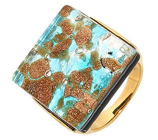 Ring Glasstein multicolor
