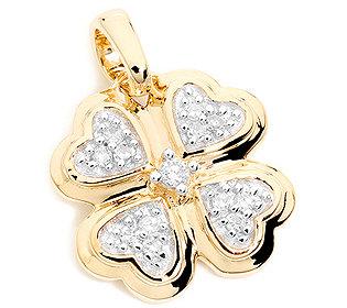Anhänger 13 Diamanten