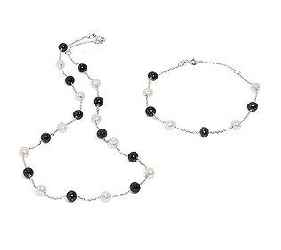 Collier Armband Perlen