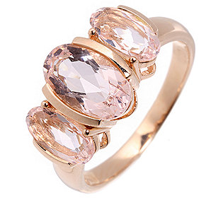 Ring 3 Morganite