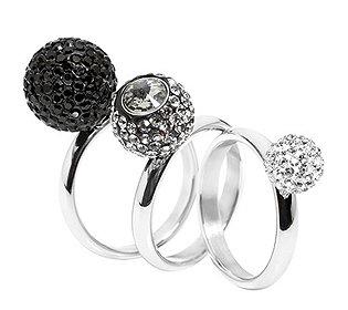 3 Ringe Kristalle