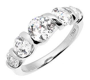 Riviere-Ring 5 Steine