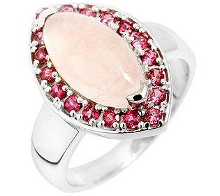 Ring Rosenquarz