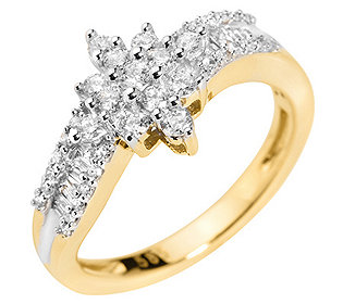 Ring 49 Diamanten
