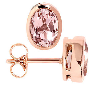 Ohrstecker 2 Morganite